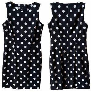 Alyx polka dot sleeveless A-line dress